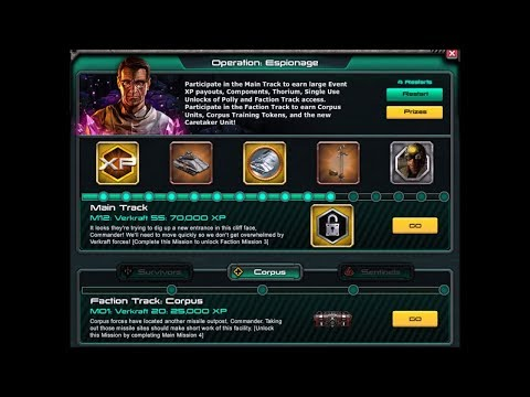 WAR COMMANDER:Operation Espionage Main Track 6 to 12