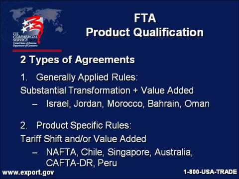 Cashing In With Free Trade Agreements Youtube