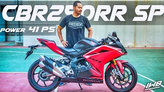 POWER 41 PS‼️ REVIEW HONDA CBR250RR SP 2021 SAMURAI  X GARUDA (60FPS) | MAKIN KENCANG ! 🔥😱