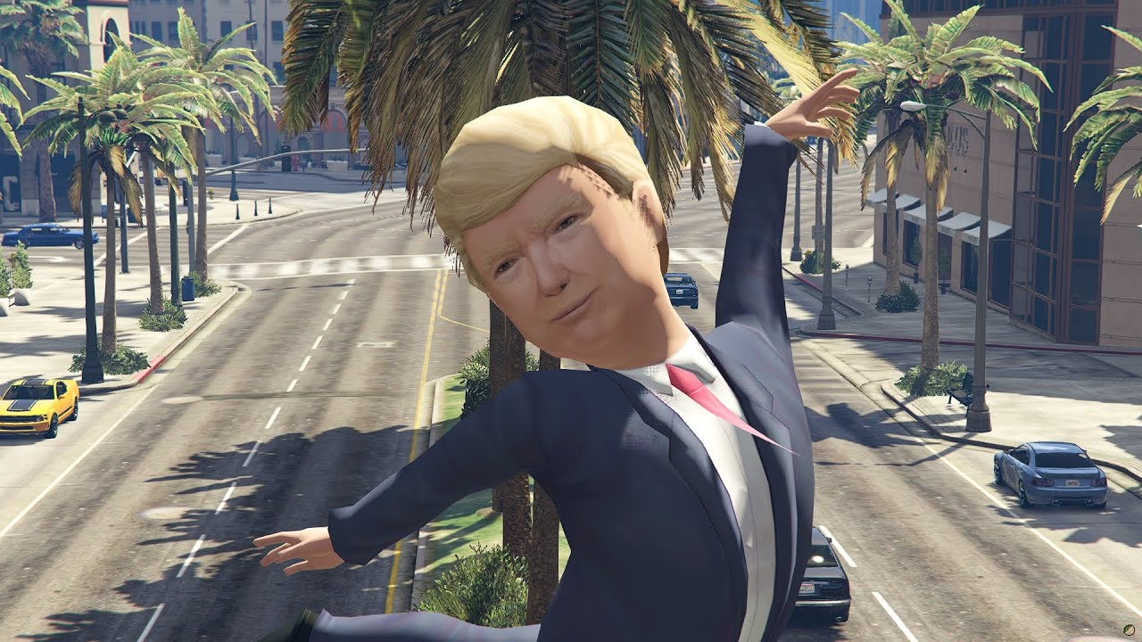 Download Trump Statue GTA V Fivem MOD