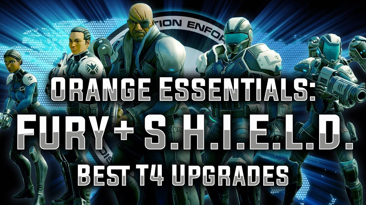 Orange Essentials: Ep  05 - Fury + S H I E L D  - (Sponsored by ClanHQ!) -  MARVEL Strike Force - MSF