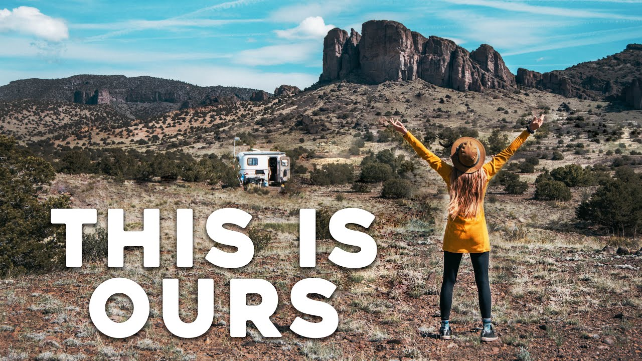 40 Acres of FREEDOM (pinch me!) // Off Grid Tiny Living