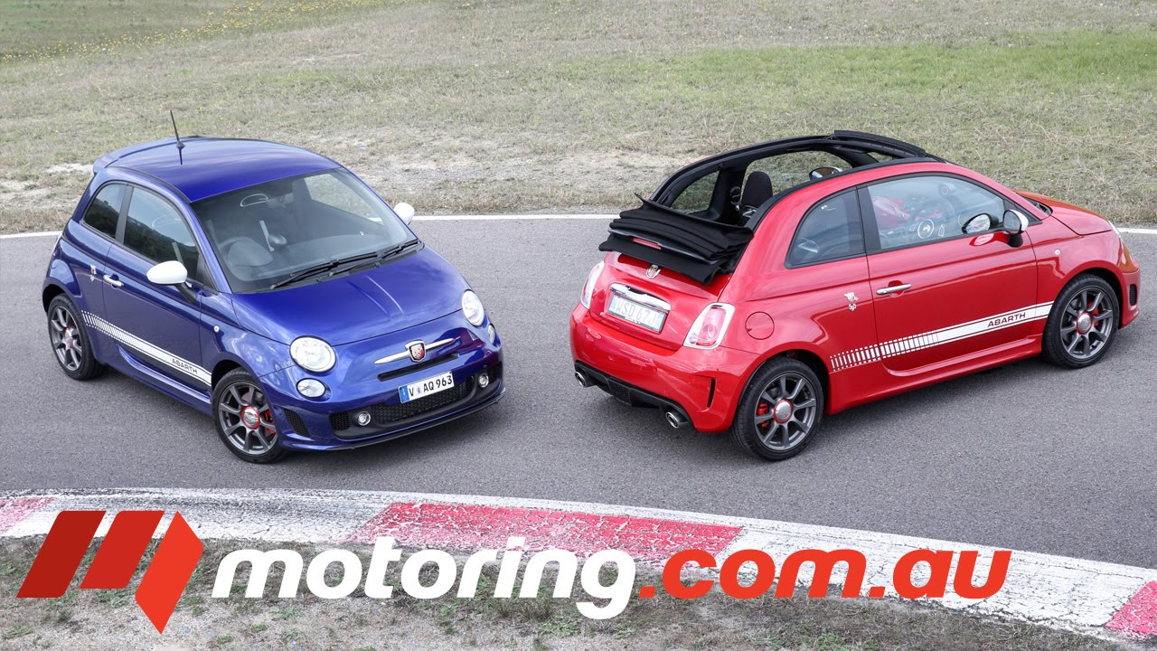 2016 Abarth 595 Review - YouTube