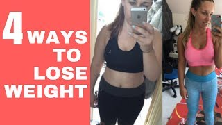 How to Lose Weight - 4 Easy Steps for Weight Loss - Before and After Inspiring Real Results