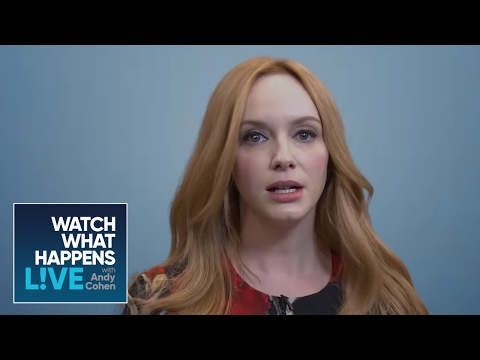 Christina Hendricks Auditions for Heather Thomson in 'Real Housewives the Movie' - WWHL
