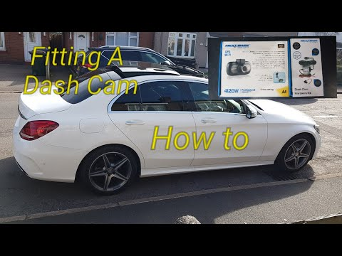 How To Fit & Install A Dash Cam Hardwire Kit Mercedes C Class W205