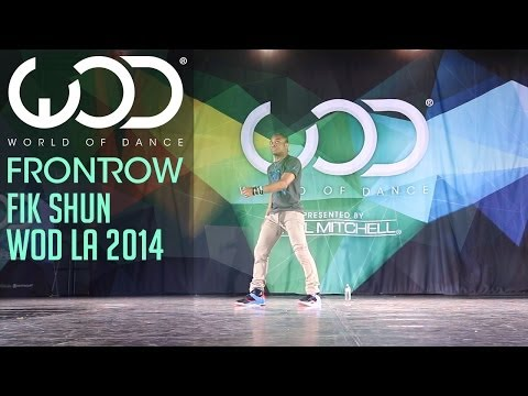 Fik-Shun | FRONTROW | World of Dance #WODLA '14