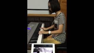 小美鋼琴演奏「李榮浩Ronghao Li--喜劇之王King of Comedy」