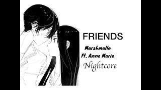 Nightcore: FRIENDS - Marshmallo   Ft. Anne Marie   Sylveon Paw