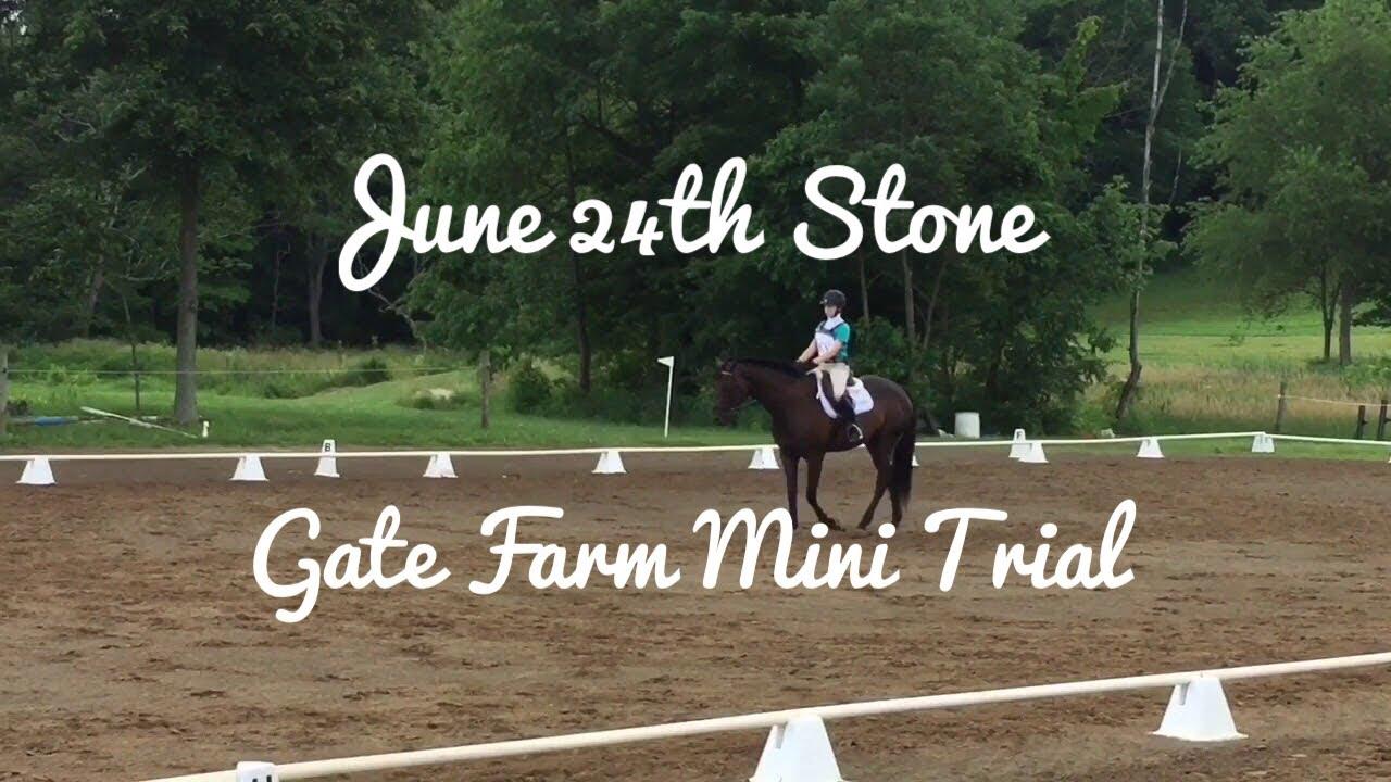 June 24th Stone Gate Farm Mini Trial!!!