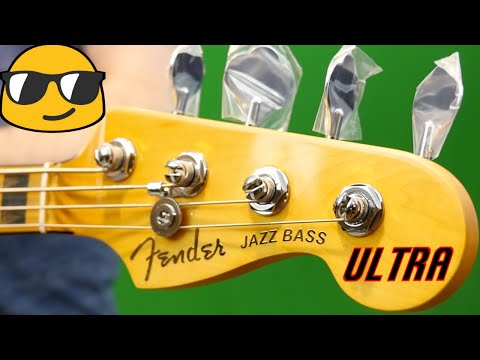 Make Your Guitar Player Jealous | 2019 Fender American Ultra Jazz Bass Texas Tea | Review + Demo