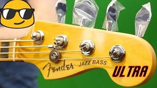 Make Your Guitar Player Jealous | 2019 Fender American Ultra Jazz Bass Texas Tea | Review + Demo