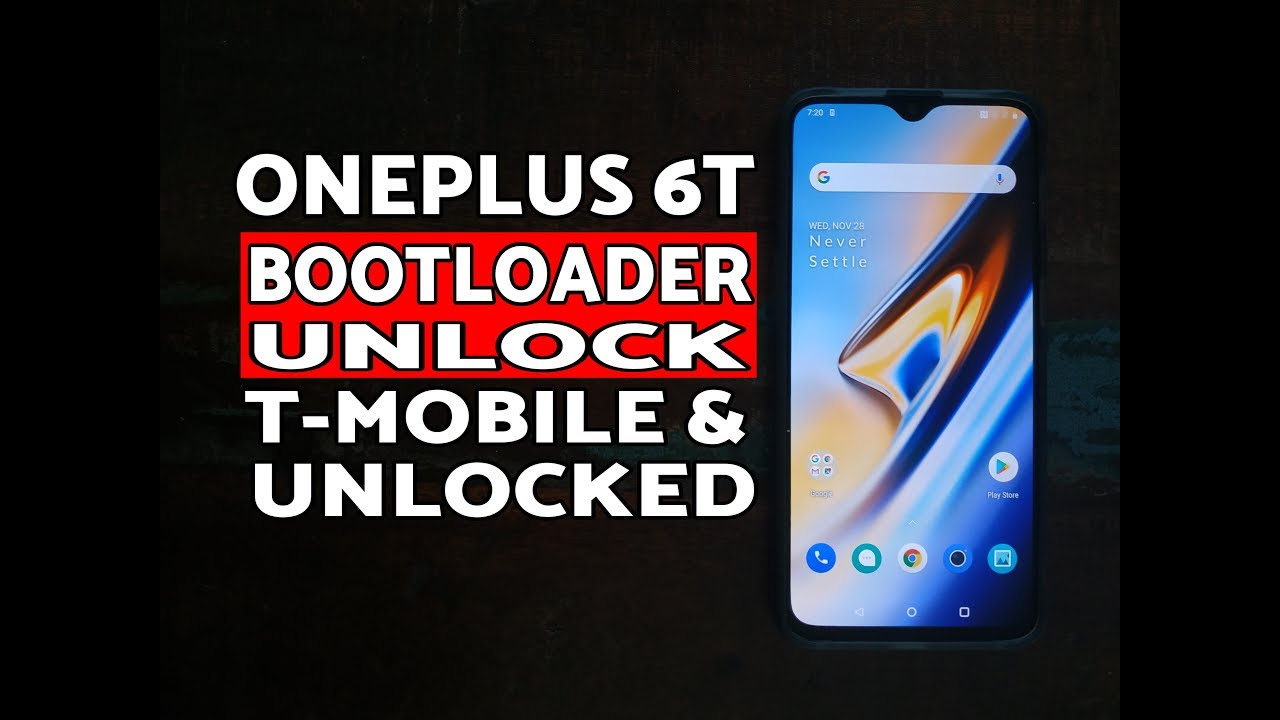 How to OnePlus 6T Bootloader Unlock (Unlocked & T-Mobile Variant)  Windows/Mac/Linux