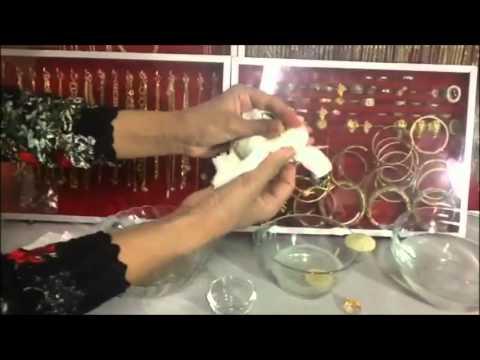 ทองธรรมรักษ์ วิธีดูแลและทำความสะอาด เครื่องประดับหุ้มทองคำแท้ emsthong gold-noriko