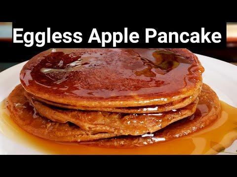 eggless-oats-apple-pancakes||-basic-pancake-recipe||-shweta-gautam