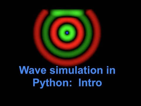 How to simulate EM waves/light in Python/Numpy