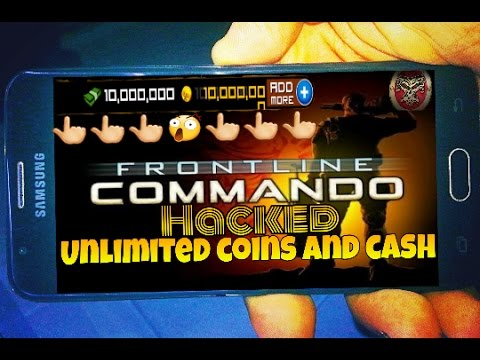 💀FRONTLINE COMMANDO😲HACKED APK UNLIMITED COINS AND CASH💀