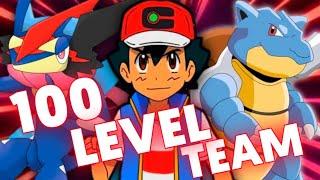 Ash's Strongest Level 100 Team |Ash Strongest Pokémon Team | Ash Best Pokémon Team |Pokémon In Hindi
