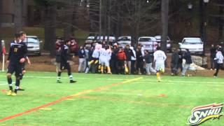 Repeat youtube video SNHU Pierre Omanga Goal - Northeast-10 Championship