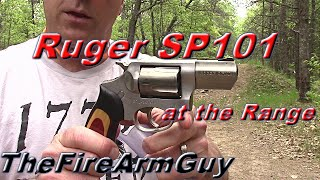 Ruger SP101 at the Range - TheFireArmGuy