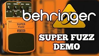 Behringer SF300 Super Fuzz Demo