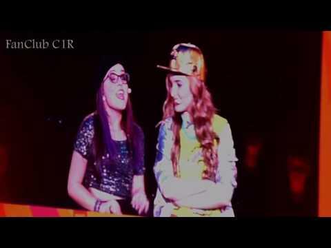 Show C1R em SP - Lari e Giovana  Conversando