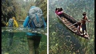 10 اماكن  يوجد بها ماء كريستالي بالكامل لن تصدق أنها موجودة على الأرض !