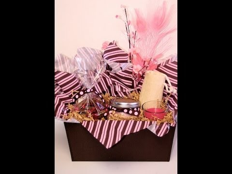 Diy Cute Spa Gift Basket Showmecute Youtube