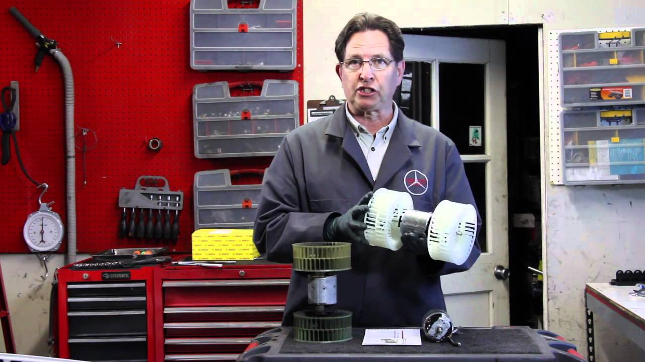 medium resolution of mercedes w201 and w124 heater blower motor inexpensive repair options 1984 to 1993 youtube