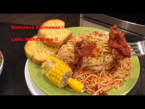 Chicken Parmesan: Meso's Famous Better Than Olive Garden Better Than Maggianos