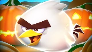 Repeat youtube video Angry Birds 2 - Spooky HAM'O'WEEN Special Halloween Level!