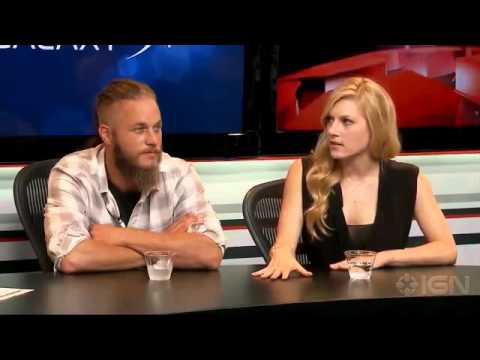 Vikings Travis Fimell and Katheryn Winnick Interview Comic-Con 20132003