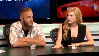 Vikings Travis Fimell and Katheryn Winnick Interview Comic-Con 20132003