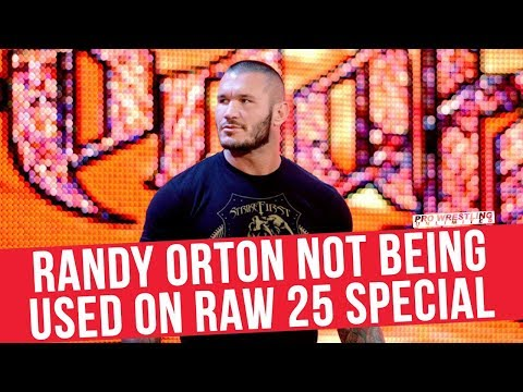 Randy Orton Not Being Used On RAW 25 Special