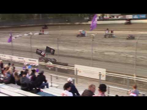 Deming Speedway WA - Micro 600R Qualifying (Devon Borden) - August 24, 2018