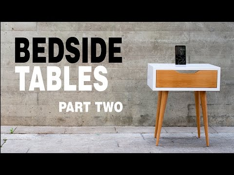 Make Modern Table Night Stand - How to Part 2/3