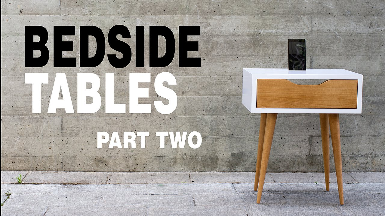 Make Modern Table Night Stand How To Part 2 3