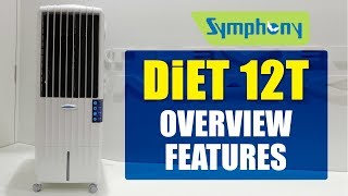 Symphony Diet 12T 12-Litre Air Cooler Overview Features | Pros and Cons