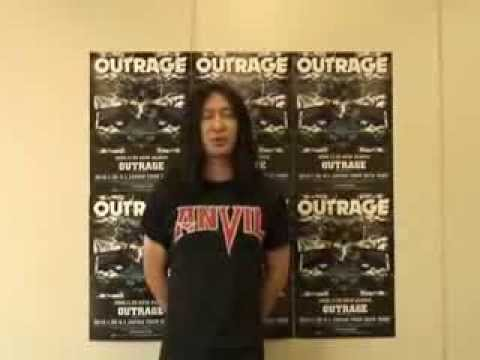 OUTRAGE | 激ロック動画メッセージ
