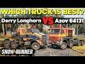 - Derry Longhorn 4520 VS Azov 64131 - SnowRunner Best Truck Comparison