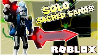 NUOVO SACRED SANDS SOLO MAP CHALLENGE IN TREASURE QUEST (Roblox)