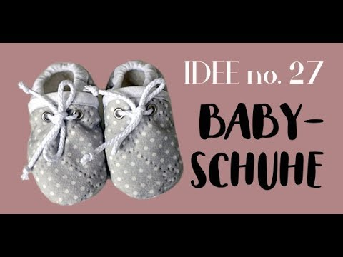 half off 441dd 4b618 DIY Babyschuhe / Krabbelschuhe selber nähen I Idee no. 27
