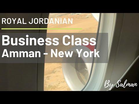 ROYAL JORDANIAN 787 - 8 Dreamliner Trip Review - Business Class - Amman to New York