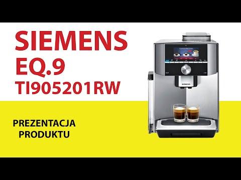 Ekspres Siemens Ti905201rw Eq 9 Youtube