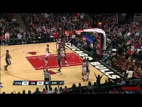 Kyle Korver 26pts vs Jazz (03.10.2012)