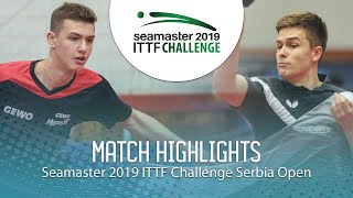 Лев Кацман vs Nils Hohmeier | Serbia Open 2019 (U21-1/4)