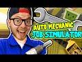 SquiddyPlays - JOB SIMULATOR! (HTC Vive) - AUTO MECHANIC!