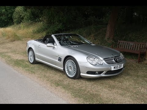2003 Mercedes SL55 AMG Convertible For Sale in Louth Lincolnshire