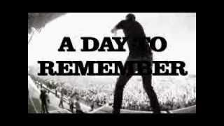 A Day to Remember - Best Of Me lyric video