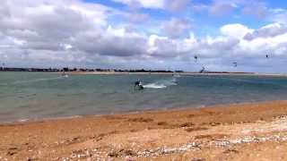 The kiff Session : Kitesurf en Normandie par Guillaume Luzena. Rap US Mix